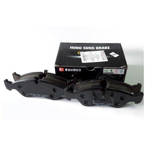 Дисковые тормозные колодки передние HONG SUNG BRAKE HP2004 для Daewoo Espero (4 шт.) дисковые тормозные колодки передние hong sung brake hp8153 для honda civic 4 шт