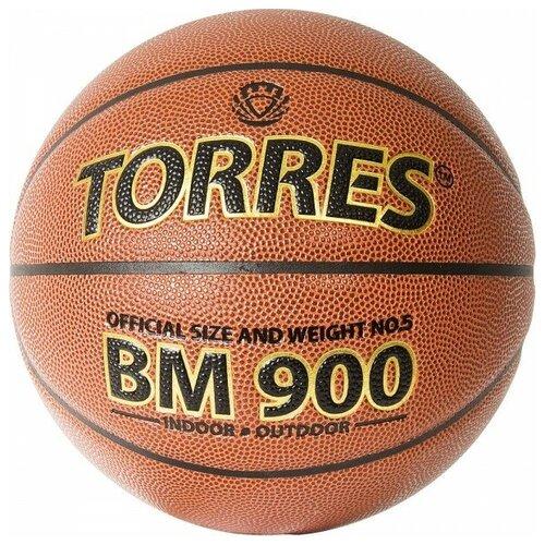 Мяч баскетбольный Torres BM900 арт.B32035 р.5 мяч баскетбольный torres slam b02065 р 5
