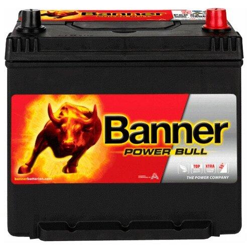 Автомобильный аккумулятор Banner Power Bull P60 62