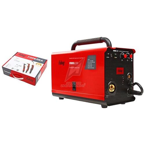 Полуавтомат сварочный FUBAG IRMIG 200 +горелка FB 250_3 м (31433.1)