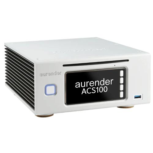 Фото - Сетевой аудиоплеер Aurender ACS100 2TB, серебристый сетевой аудиоплеер audiolab 6000n play silver