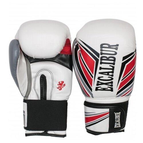 Перчатки боксерские Excalibur 8023-03 White PU 10 унций