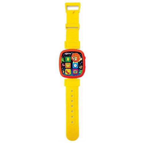 Фото - Интерактивная развивающая игрушка Азбукварик Чудо-часики Мой львёнок, желтый музыкальная интерактивная игрушка часики веселый кеша тм азбукварик