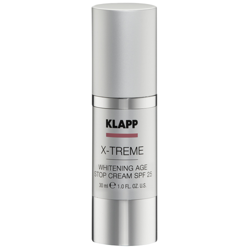klapp x treme super lipid cream Отбеливающий антивозрастной Klapp X-treme Whitening Age Stop SPF25, 30 мл