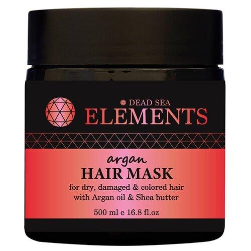 Купить Elements Восстанавливающая маска для волос с Аргановым маслом и минералами Мертвого моря, 500 мл (Израиль), Sea of Spa