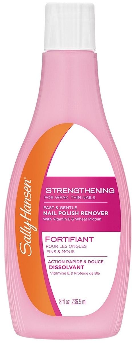 Стоит ли покупать Sally Hansen Жидкость для снятия лака укрепляющая Strengthening Nail Polish Remover для мягких и тонких ногтей? Отзывы на Яндекс.Маркете