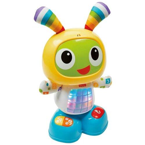 Фото - Интерактивная развивающая игрушка Fisher-Price Веселые ритмы. Обучающий робот Бибо (DJX26), желтый обучающий робот fisher price бибо