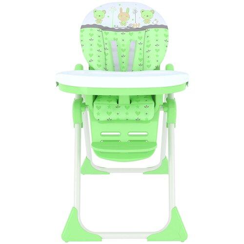 стул для кормления globex космик new белый Стульчик для кормления GLOBEX Космик, зеленый