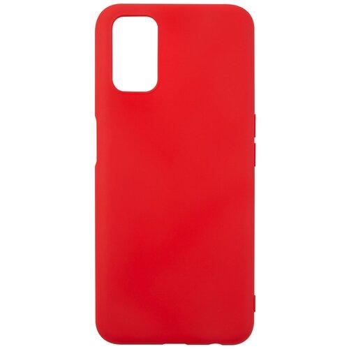Чехол для Oppo A52/Oppo A72/Oppo A92, силиконовая накладка, красный