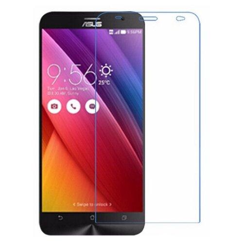 Защитная пленка MyPads (только на плоскую поверхность экрана НЕ закругленная) для телефона Asus Zenfone 2 5.0 ZE500CL глянцевая