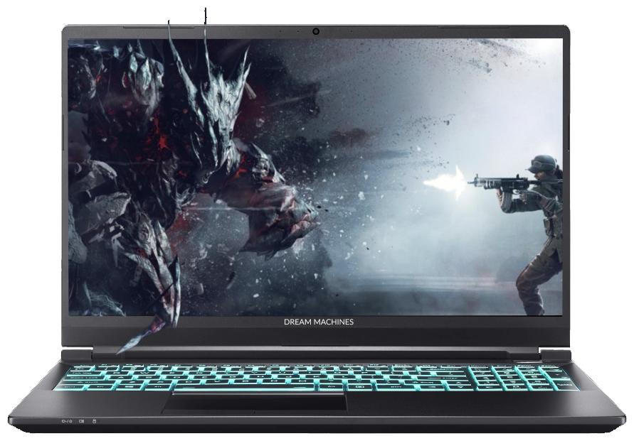 "Ноутбук Dream Machines S1660Ti-15RU51 (Intel Core i7 10750H 2600MHz/15.6""/1920x1080/16GB/1000GB SSD/NVIDIA GeForce GTX 1660 Ti 6GB/Без ОС) — купить по выгодной цене на Яндекс.Маркете"