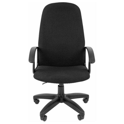Компьютерное кресло Chairman Стандарт СТ-79 PL для руководителя, обивка: текстиль, цвет: черный