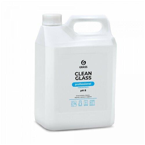 Фото - Средство для очистки стекол и зеркал GraSS Clean glass concentrate Professional, 5 л очиститель стекол grass clean glass 110393 600 мл