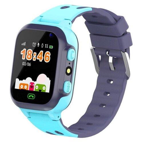 Детские умные часы Smart Baby Watch E07 синий