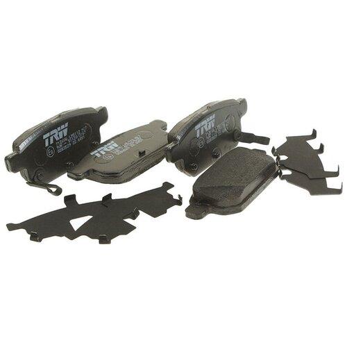 Дисковые тормозные колодки задние TRW GDB3529 для Suzuki Swift, Suzuki SX4, Suzuki Vitara (4 шт.)