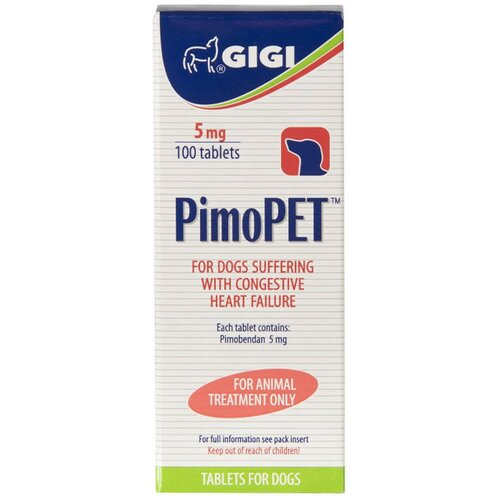 GiGi ПимоПет таблетки, 5 мг 100 таблеток