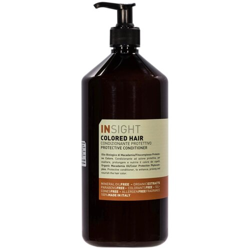 Фото - Insight кондиционер Colored Hair Protective для окрашенных волос, 900 мл insight кондиционер colored hair защитный для окрашенных волос 400 мл