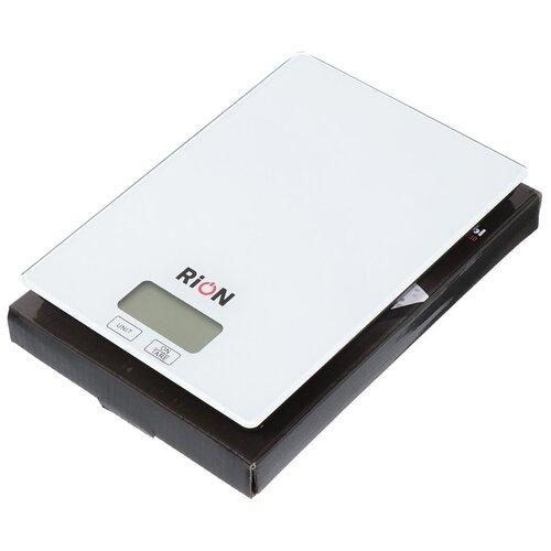 Весы кухонные электронные Rion PT-210 белые до 5 кг недорого