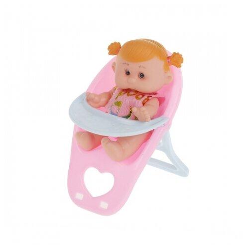 Игр. набор Мой малыш, в компл. кукла-пупс 13см., предм. 1шт., сетка