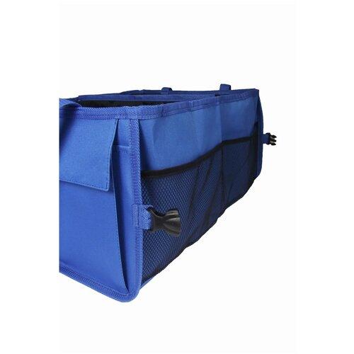 Органайзер для автомобиля в багажник глубокий синий