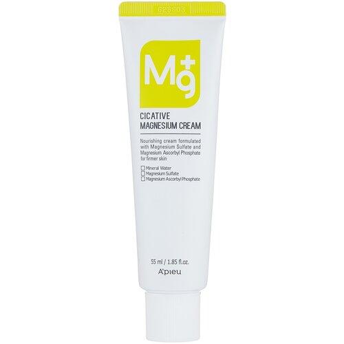Купить A'PIEU Cicative Magnesium Cream Крем для лица с магнием, 55 мл