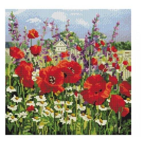 Мозаичная картина на подрамнике Краски лета