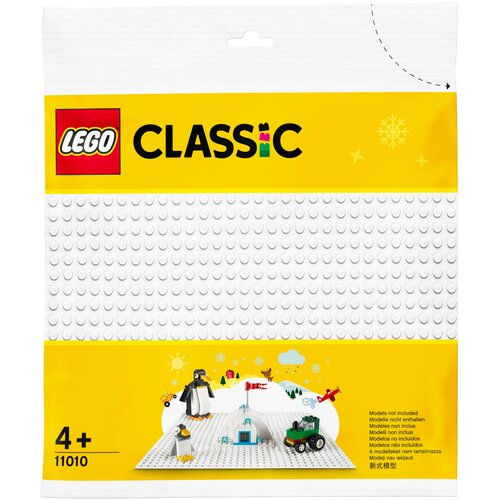 дополнительные детали lego the lego movie 52377 космический корабль мими катавасии Дополнительные детали LEGO Classic 11010 Белая базовая пластина