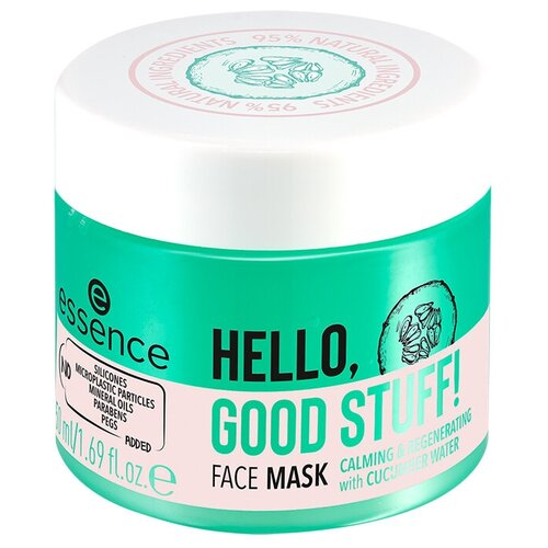 Купить Essence Увлажняющая маска для лица HELLO, GOOD STUFF!