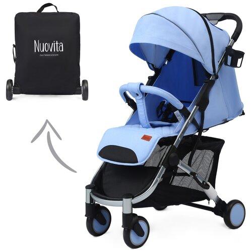 Купить Прогулочная коляска Nuovita Snello, celeste, Коляски