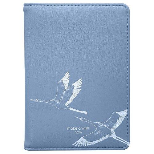 Обложка для автодокументов InFolio Wish, голубой