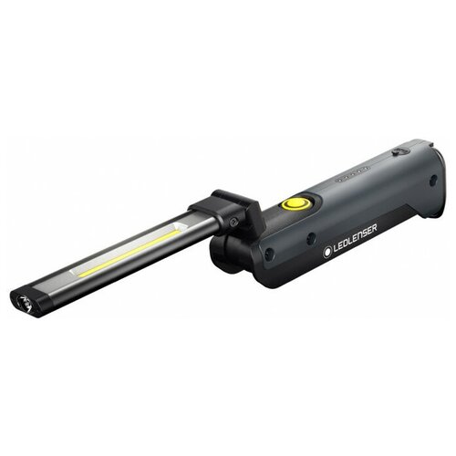 Фото - Ручной фонарь LED LENSER IW5R Flex черный фонарь светодиодный led lenser iw5r flex 600 лм