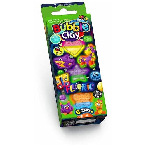 Шариковый пластилин Danko Toys Fluoric 6 цветов (BBC-FL-6-01/BBC-FL-6-02)