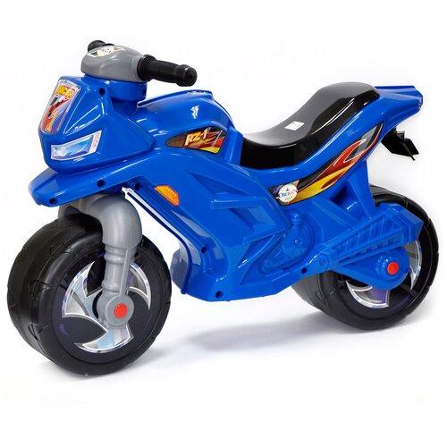 Купить Каталка-толокар Orion Toys Мотоцикл 2-х колесный (501В3) синий, Каталки и качалки
