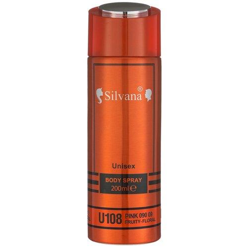 Купить Парфюмированный дезодорант-спрей для тела Silvana Pink 090 09, 200ml