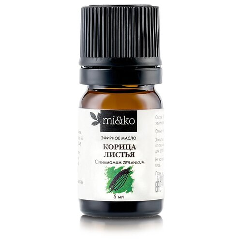 MI&KO эфирное масло Корица листья, 5 мл