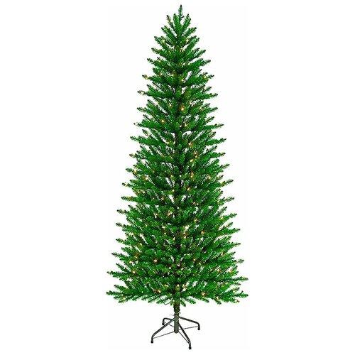National Tree Company Ель Кенсингтон с лампочками 1.98, 198 см