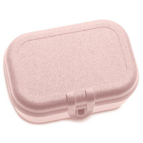Koziol Ланч-бокс Pascal S Organic, 10.7x15.2 см, розовый ланч бокс basic organic розовый