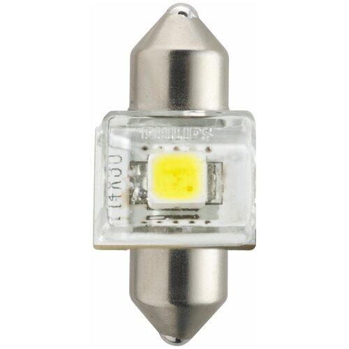 Лампа автомобильная светодиодная Philips X-tremeUltinon LED 129404000KX1 C5W 12V 1W 1 шт.