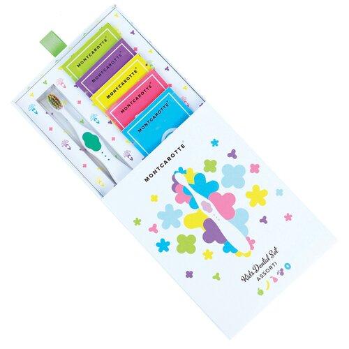 Купить Набор для чистки зубов Montcarotte Kids Dental Set Assorti 0+, green, Гигиена полости рта
