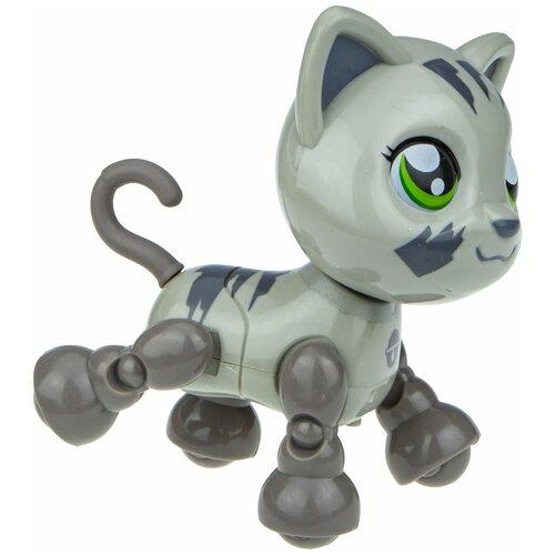 Фото - Робот 1 TOY Robo Pets Милашка котенок серый робот 1 toy robo pets котёнок белый голубой