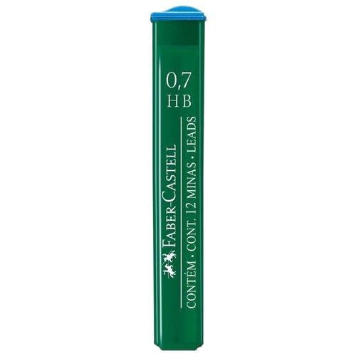 Купить Faber-Castell Грифели для механических карандашей HB, 0.7 мм, 12 упаковок по 12 шт. 521700, Механические карандаши и грифели