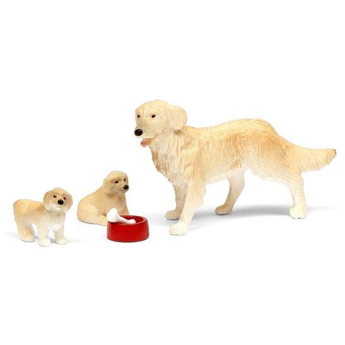 Купить Питомец Lundby Пес Семьи Со Щенками LB_60807400, Аксессуары для кукол