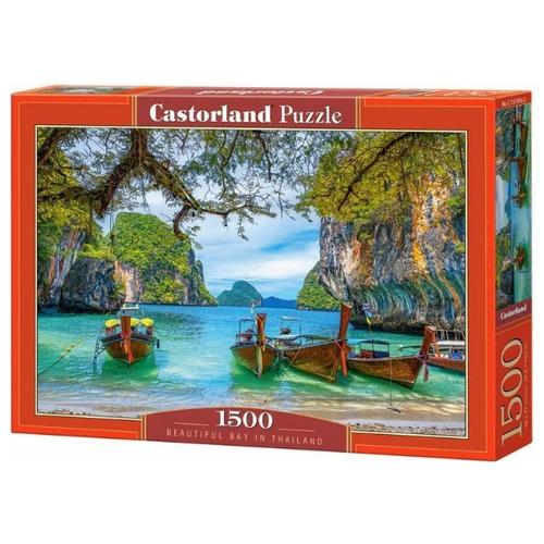 Пазл Castorland Красивая бухта. Таиланд (C-151936), 1500 дет. пазл castorland kittens play time c 151639 1500 дет