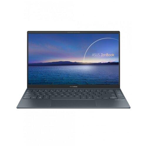 "Ноутбук ASUS ZenBook 14 UX425EA-HM135T (Intel Core i7 1165G7 2800MHz/14""/1920x1080/16GB/1024GB SSD/DVD нет/Intel Iris XE Graphics/Wi-Fi/Bluetooth/Windows 10 Home) 90NB0SM1-M02340 серый"