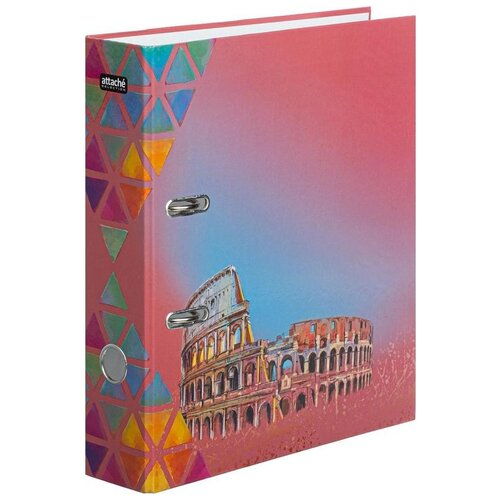 Купить Attache SELECTION Папка-регистратор Travel А4, ламинированный картон, 75 мм Italy, Файлы и папки