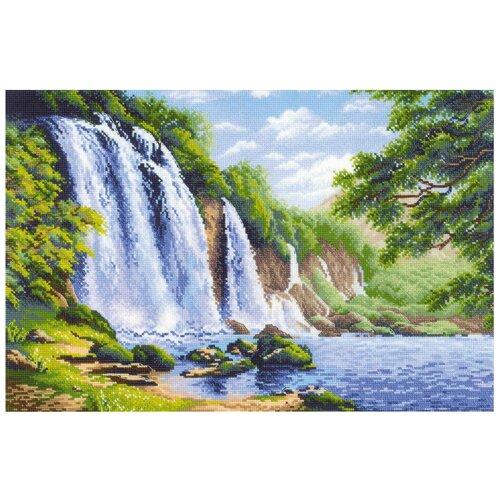 Купить Риолис Набор для вышивания Шум водопада 60 x 40 см (1908), Наборы для вышивания