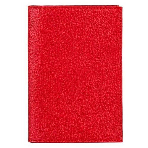 Обложка для паспорта FABULA O.1.BK, красный