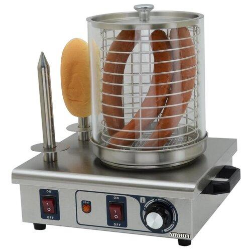 Аппарат для хот-догов Airhot HDS-02 серебристый