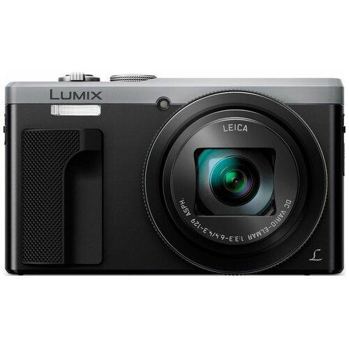 Фото - Фотоаппарат Panasonic Lumix DMC-ZS60/TZ80 серебристый фотоаппарат panasonic dmc ft30 lumix blue