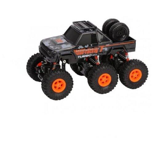 Внедорожник Пламенный мотор Краулер Штурм (870428) 28 см черный/оранжевый
